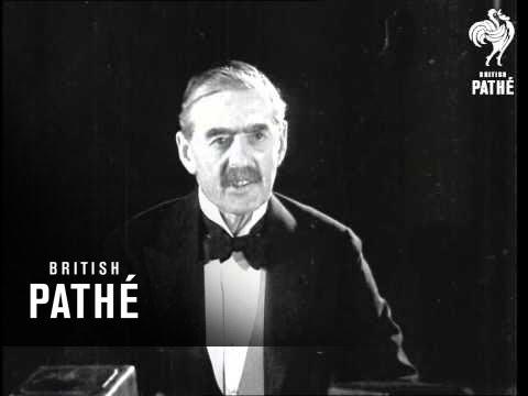 Mr Neville Chamberlain (1934)
