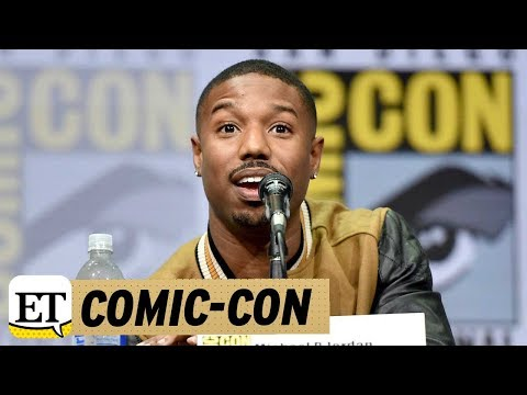 EXCLUSIVE: Michael B. Jordan Talks 'Black Panther' and His Sex Symbol Status: 'Who Me?'