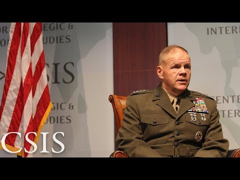 Discussion with General Robert B. Neller, Commandant of the U.S. Marine Corps