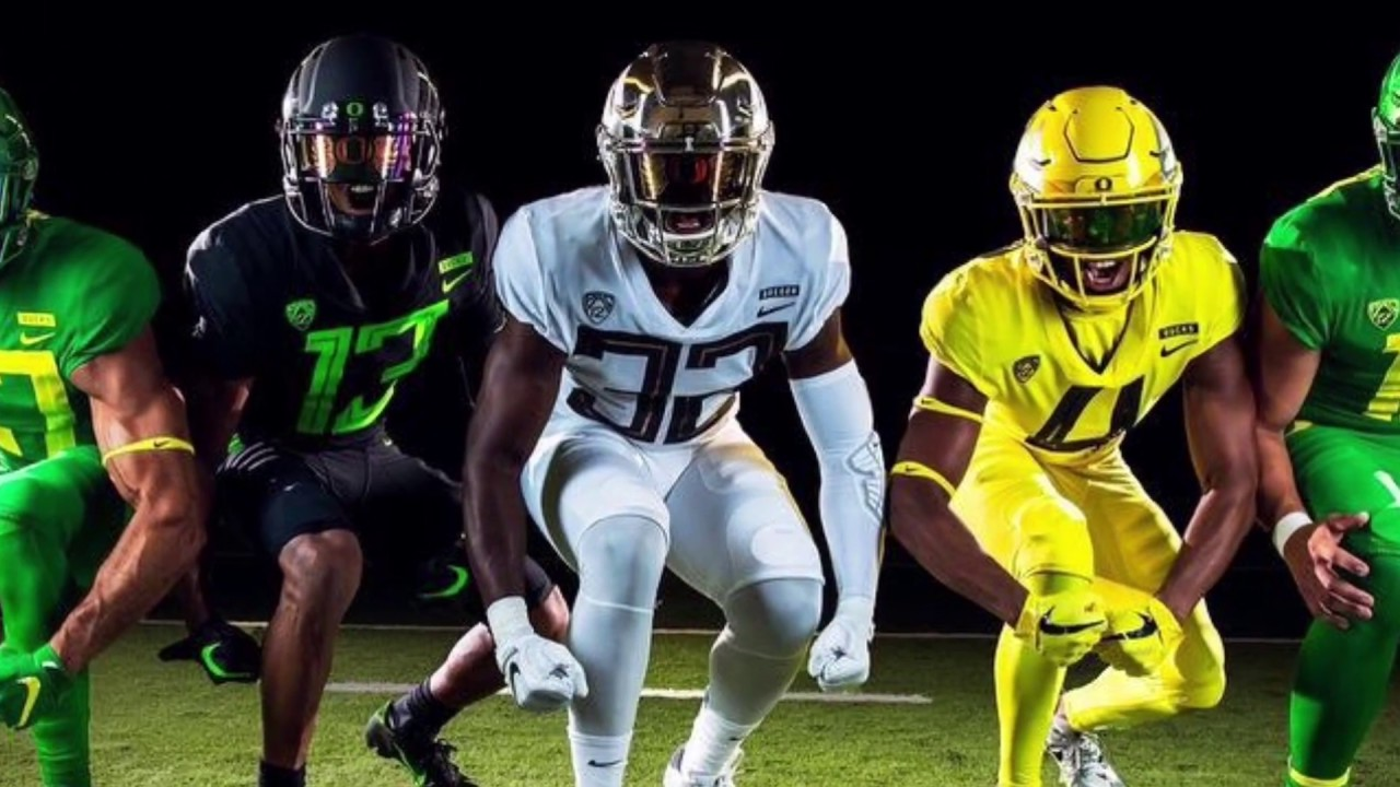 2018-2019 NEW COLLEGE FOOTBALL UNIFORMS!!! - YouTube 2806d71fa