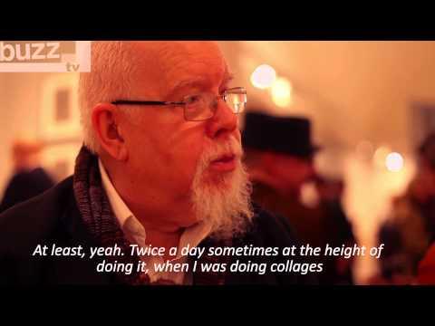 Buzz TV talks to Peter Blake