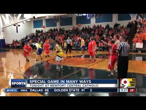 Special Olympians compete at Newport Central Catholic High School