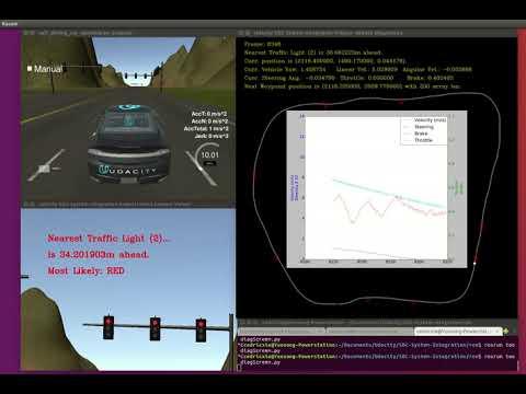 Team Vulture - Self Driving Car Engineer Nanodegree - System Integration - Simulator