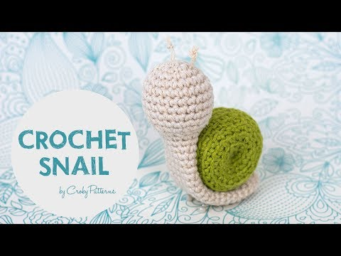 Easy Crochet Tutorial How To Make An Amigurumi Snail