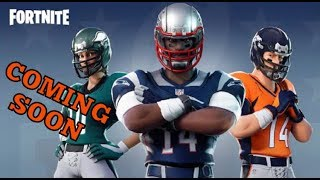 FORTNITE (LIVE NOW) NEW FOOTBALL SKINS SOON// NEW HEAVY AR NOW