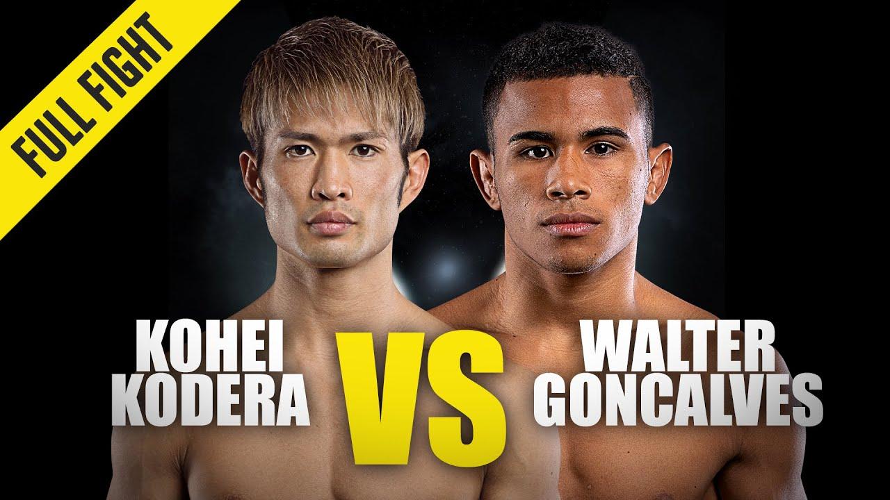 Momotaro vs. Walter Goncalves | ONE Championship Full Fight