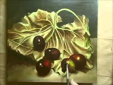 Acrylic Paintings Of Grapes