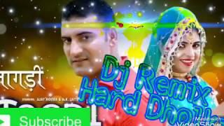 Chan chan bole Teri tagdi Dj hard dholki mix 2018