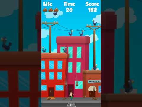 Crappy Birds Invasion - Android Gameplay [4+ MIns, 480p30fps]