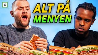 Spiser ALT på Subway  - Martin Lepperød vs Magan