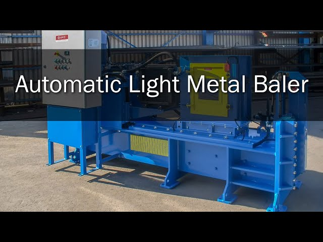 Automatic Light Metal Baler
