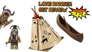 Lego Lone Ranger Comanche Camp 79107 Review With 3 Minifigures