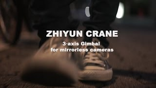 Zhiyun Crane 3 axis Gimbal for mirrorless cameras