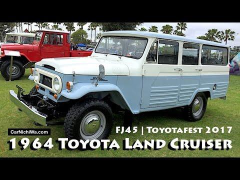 1964 Toyota Land Cruiser FJ45 4-Door Wagon   Toyotafest 2017 Car Show    CarNichiWa com
