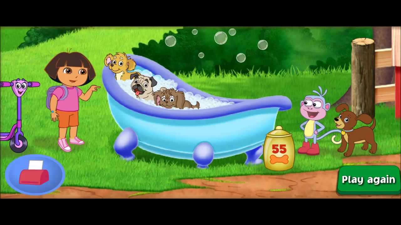 Dora The Explorer Hd Find Those Puppies New Movie Episode