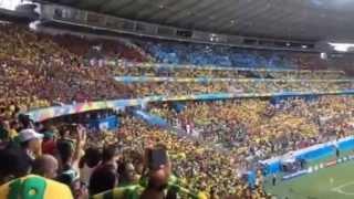 Himno nacional mexicano en fortaleza, ce. Brasil
