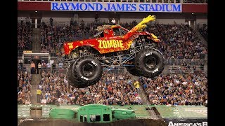 ZOMBIE Fire (Bari Mussawir) Freestyle ROBLOX Monster Jam World Finals XX