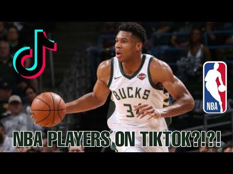 NBA PLAYERS ON TIKTOK COMPILATION !!!