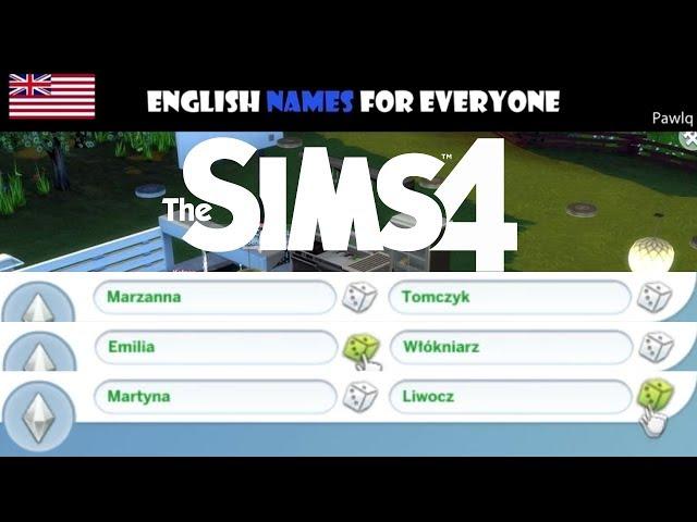 Najlepsze mody na nazwiska do Sims 4 s? tutaj!