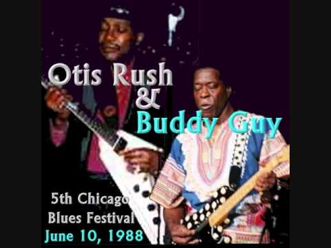 Otis Rush - Crosscut Saw 6-10-88