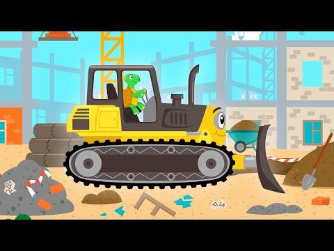 МАШИНКИ - Песня мультфильм загадка и игра для детей про животных