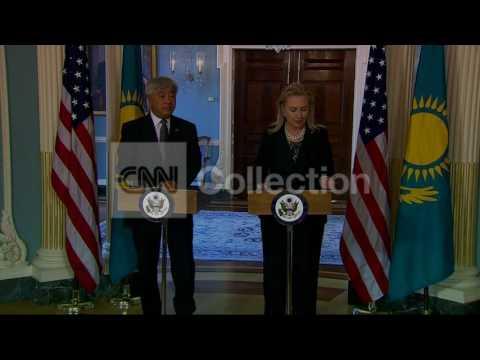 DC:CLINTON-KAZAKHSTAN FM BILAT-WALK UP