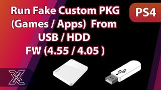 How to Run Fake Custom Package (Games / Apps) from USB / HDD (4.55 / 4.05 )
