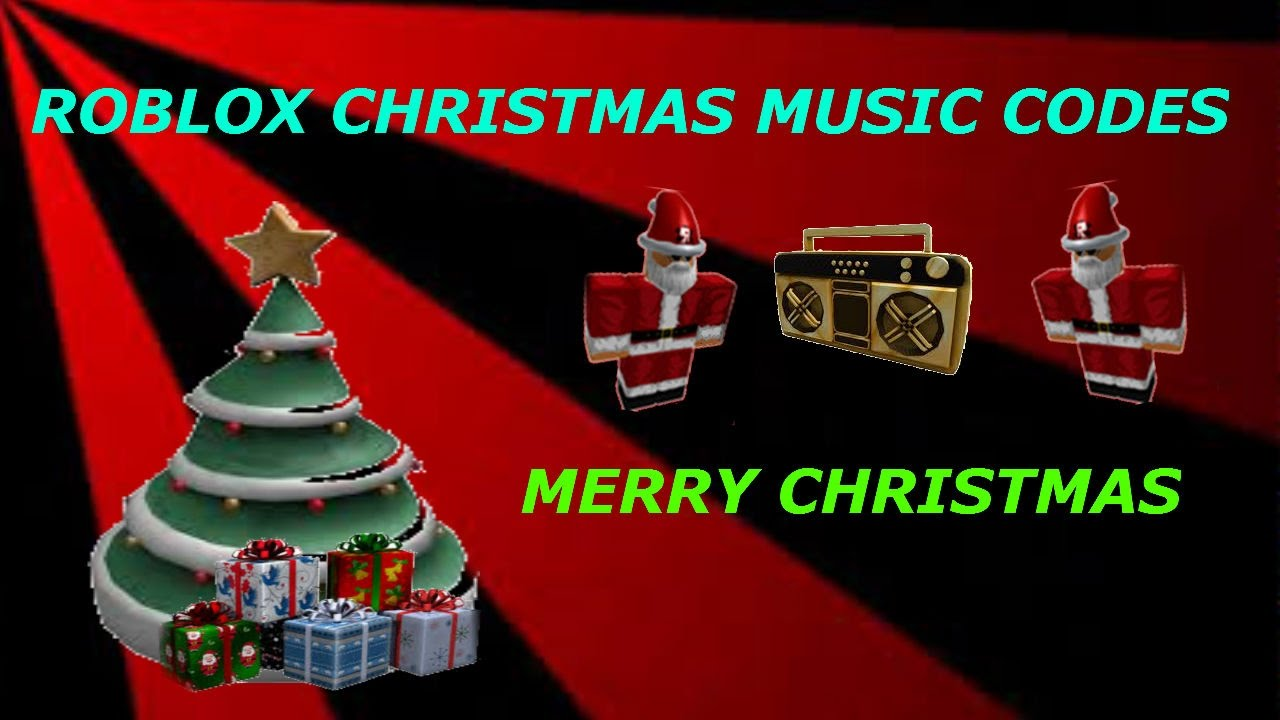 roblox music codes christmas