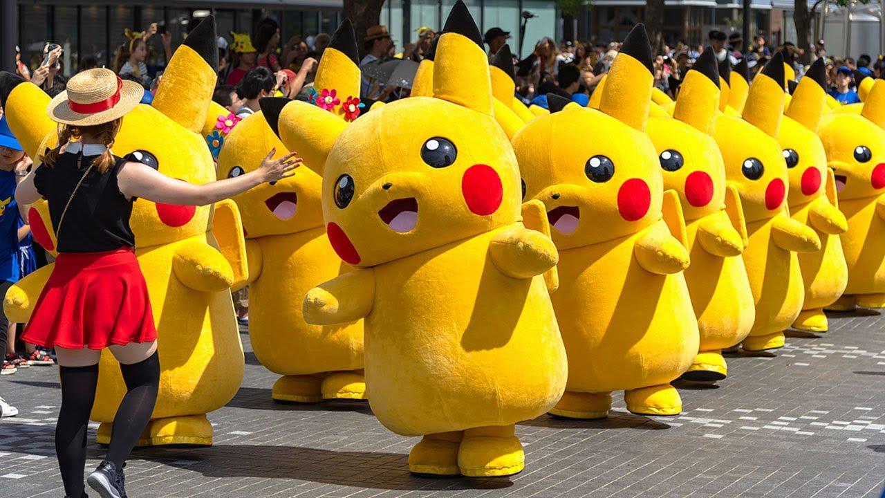 Pikachu - Pikachu Nhạc Thiếu Nhi Sôi Động - Pikachu Cho Bé -  Pi Cà Chú