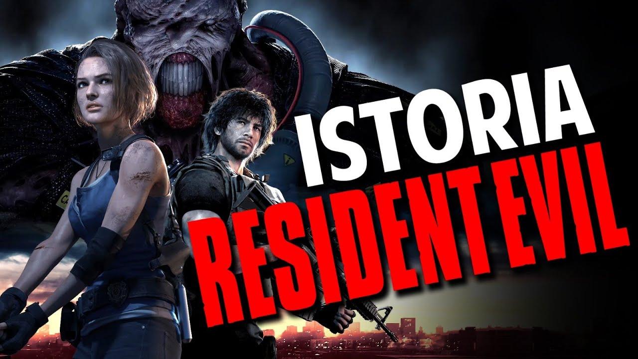Istoria Resident Evil 1996-2020
