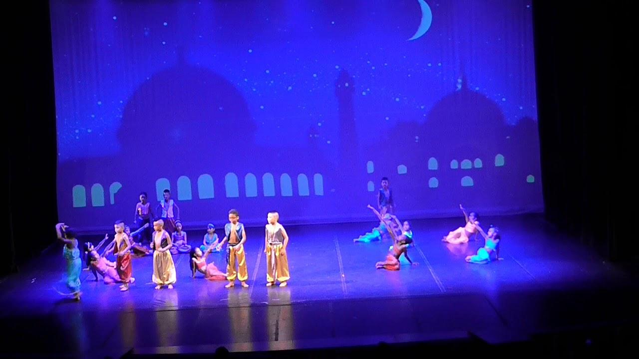 Aladdin y el Genio de la Salsa Niños