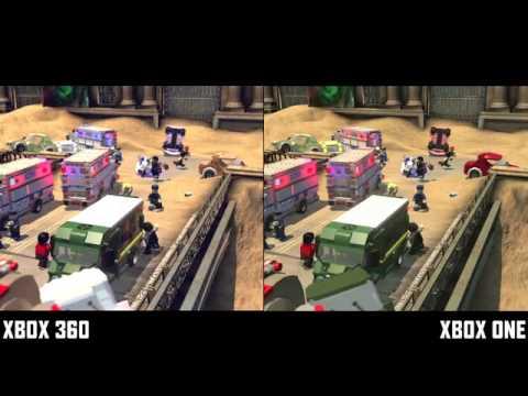 New LEGO Marvel Superheroes Xbox One Vs Xbox 360 Update - YouTube