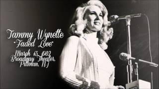 Tammy Wynette - Faded Love [Live][1982]