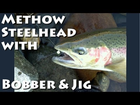 Methow River Steelhead With Bobber And Jig