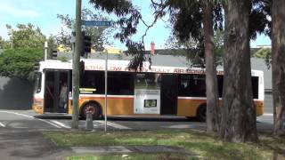 Rail replacement buses at North Melbourne - Melbourne Transport