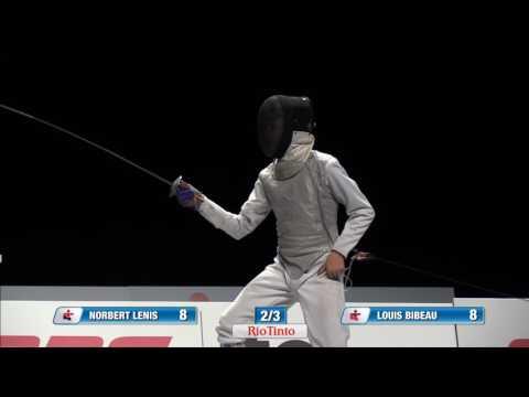 Jeux du Québec – 2017 02 28 – Escrime Finales 1