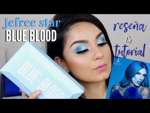 BLUE BLOOD DE JEFREE STAR RESENA DEMO Y RECOMENDACION DE PALETA ECONOMICA |Amanda Burgos thumbnail