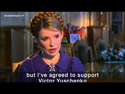 Yulia Tymoshenko and the Orange Revolution