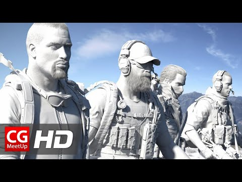 """CGI 3D Breakdown HD: """"Making of Tom Clancy's Ghost Recon"""" by Mathematic Studio"""