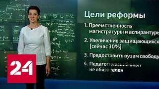 Аспирантуру в России будут реформировать