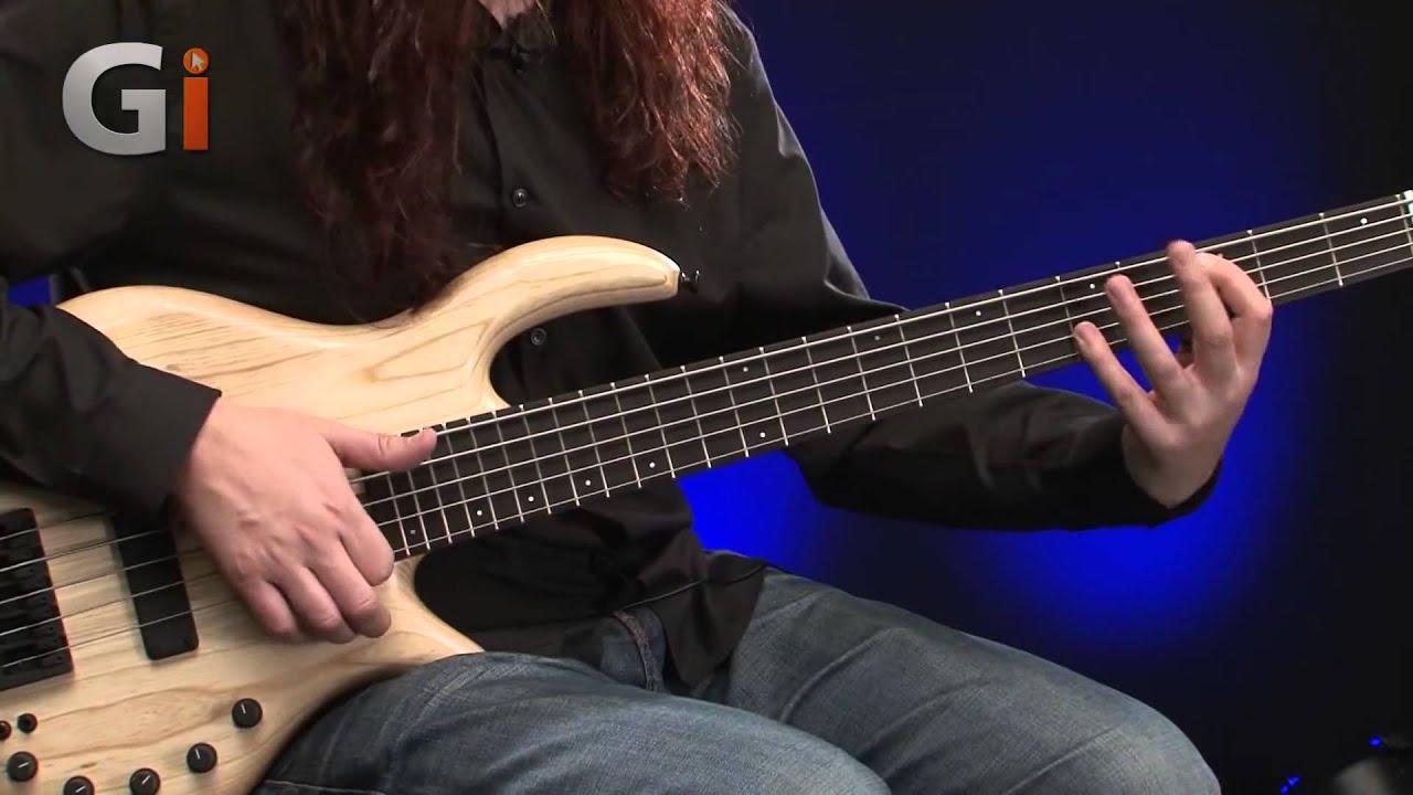elrick expat evolution 5 string bass guitar review youtube. Black Bedroom Furniture Sets. Home Design Ideas