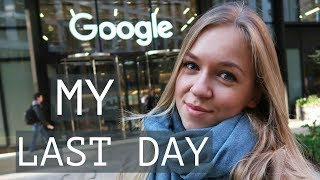 My Last Day at Google | Blonde Vlogs
