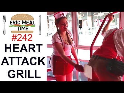 Heart Attack Grill LAS VEGAS - Eric Meal Time #242