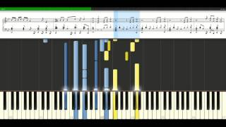 Robbie Williams - Shes The One [Piano Tutorial] Synthesia