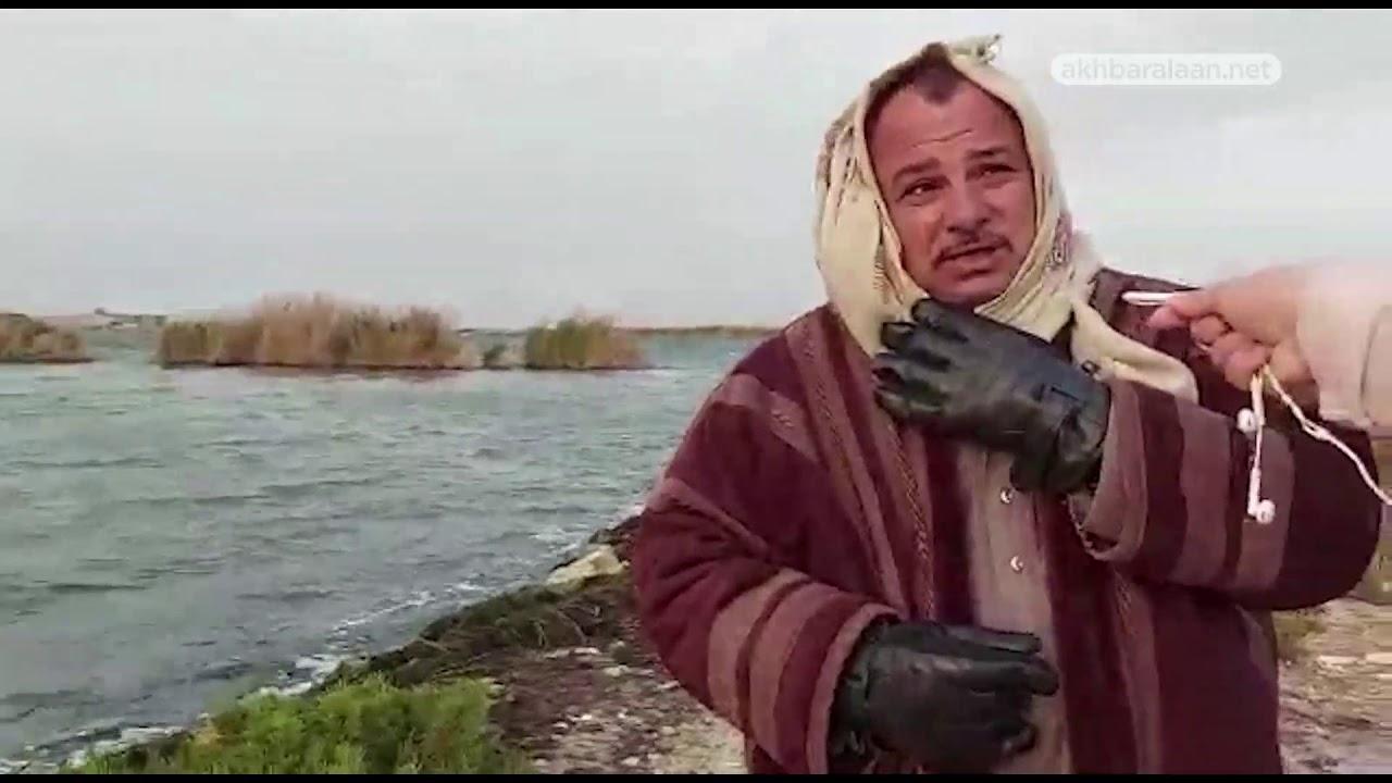 فريق عمل #عيش_الآن في موقع غرق القارب في مدينة #الإسكندرية، شمالي #مصر