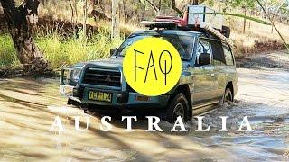 FAQ - Geländewagen/4WD oder Camper Van in AUSTRALIEN? | REISEVLOG - TRAVELVLOG