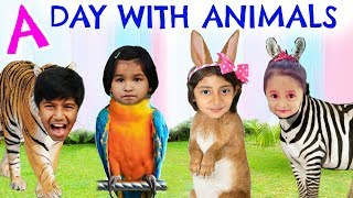 A Day With Animals ... #Zoo #Travel #Kids #Blogger #MyMissAnand