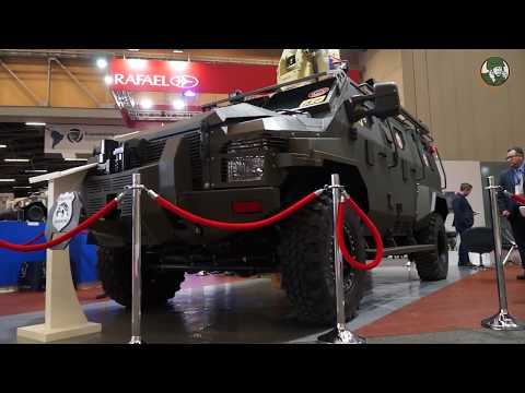 Streit Group military and security vehicles for South America market ExpoDefensa 2017 Bogota Colombi