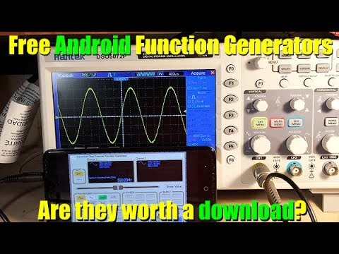 Free Android Function Generators