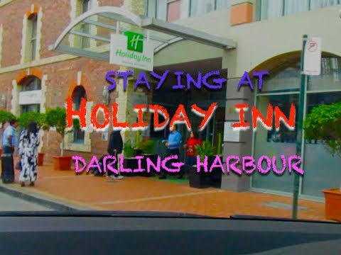HOLIDAY INN Darling Harbour and around Chinatown Sydney Australia